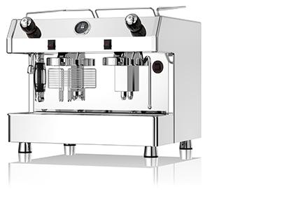 Fracino Bambino Deluxe - profesjonalny ciśnieniowy ekspres do kawy, 2 grupowy sterowany manualnie.