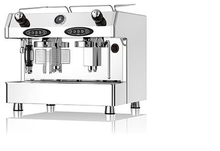 Fracino Bambino Deluxe - profesjonalny ciśnieniowy ekspres do kawy, 2 grupowy sterowany elektronicznie.